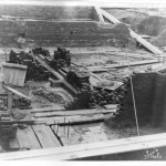 01_September 4 1931_LookingSouthwest_PostOfficeConstruction_LintonIndiana
