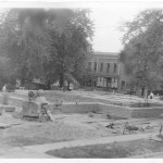 05_October 1 1931_LookingSouthwest_PostOfficeConstruction_LintonIndiana