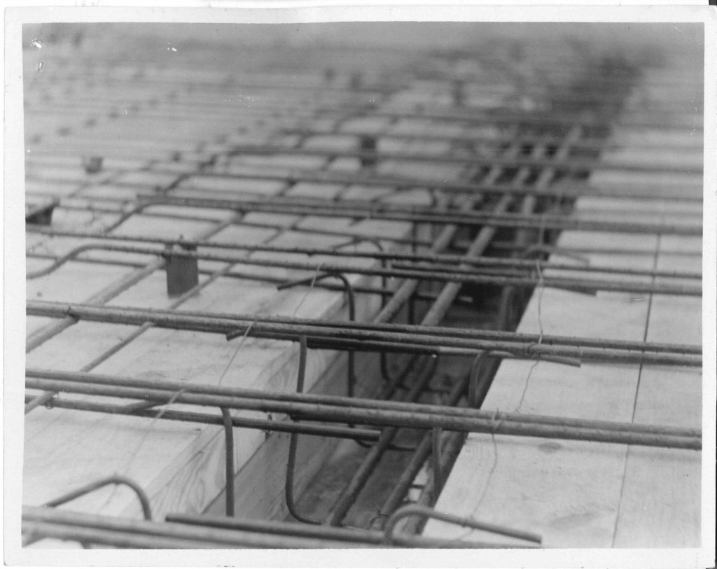 06_October 5 1931_sent_PostOfficeConstrcution_ShowingReinforcement in place_Linton Indiana