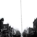 100 foot FLAG POLE north main fm