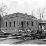 14_January 4 1932_LookingNorthwest_PostOfficeConstruction_LintonIndiana