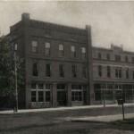 Hotel, New Linton postcard fm
